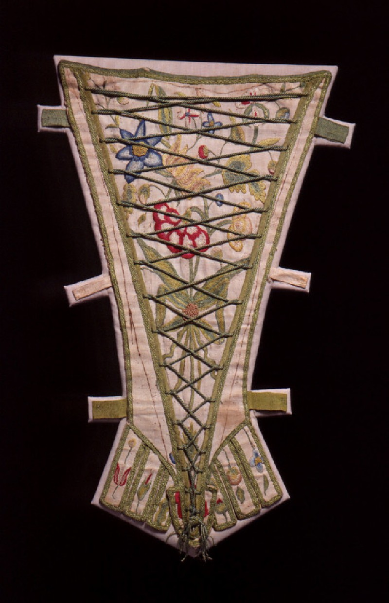 Embroidered stomacher (AN.1921.854)