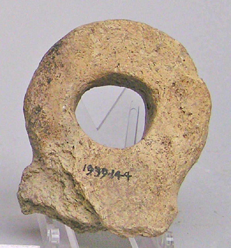 Fragment of an eye-idol (AN1939.144, AN.1939.144, record shot)