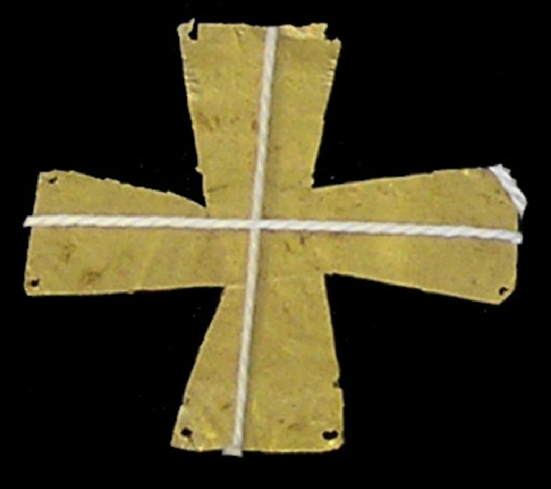 Cruciform applique