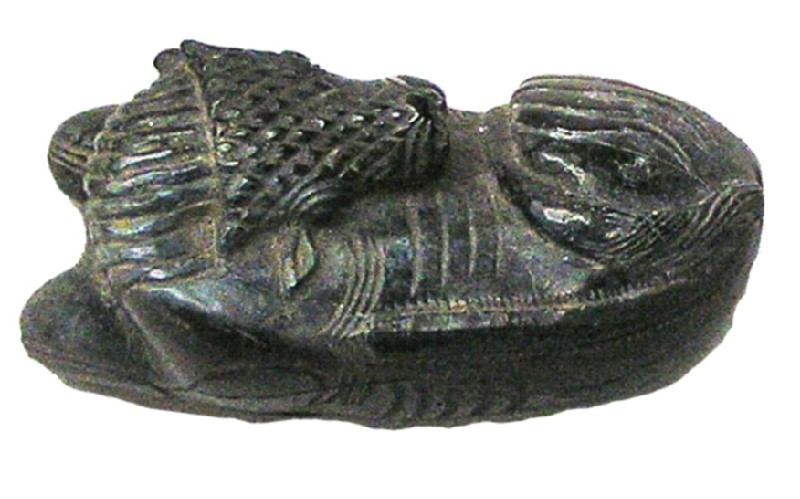 Small sculpture of calf