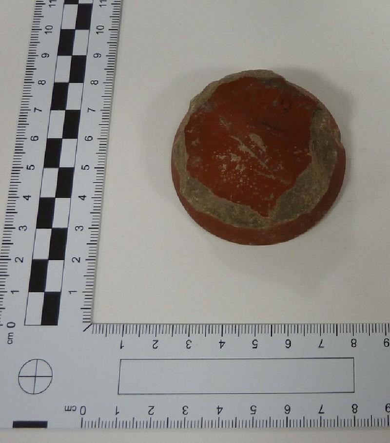 Samian bowl stamped SATVRNINI OF