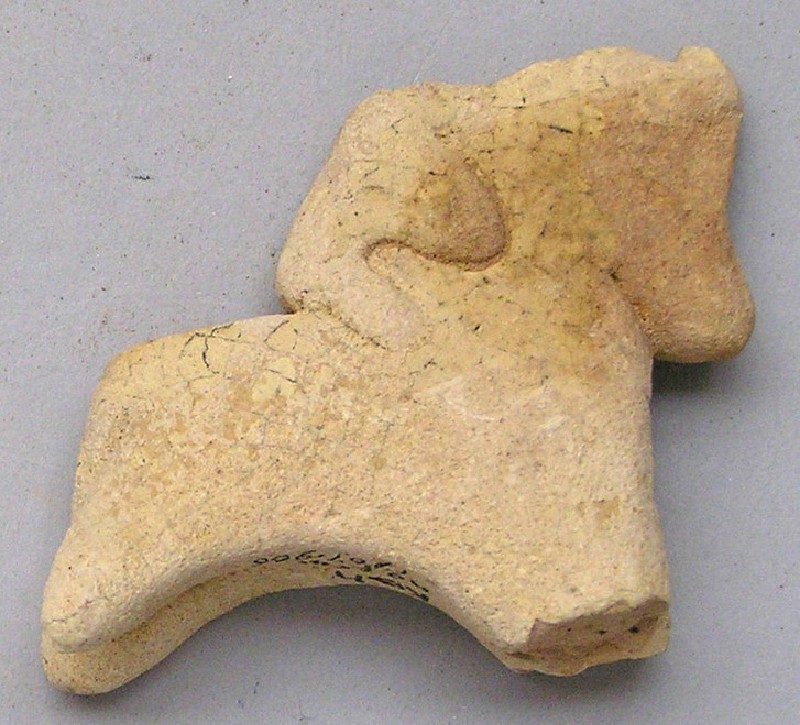 Horse-and-rider figurine