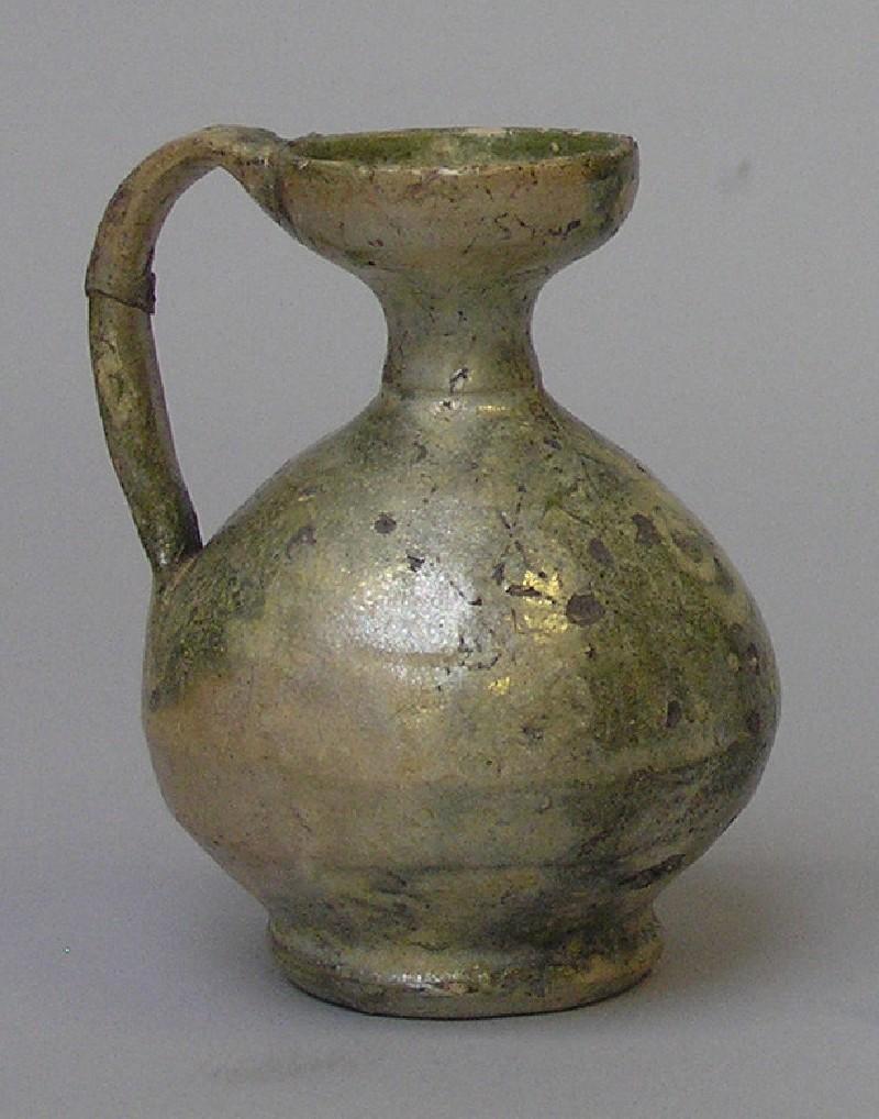 Small ceramic flagon