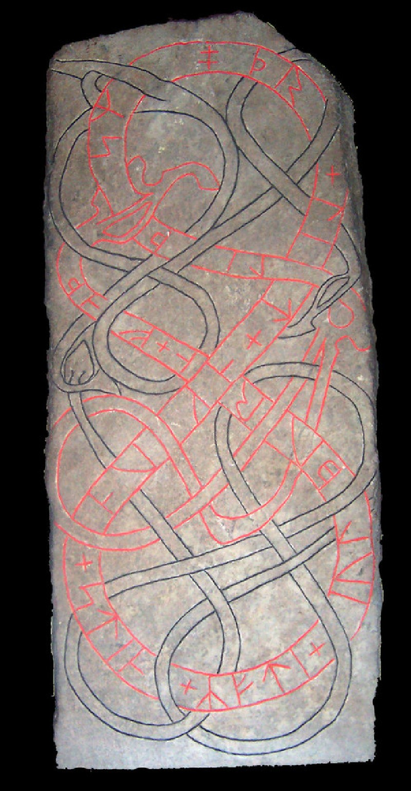 Rune stone (AN.1997.1)