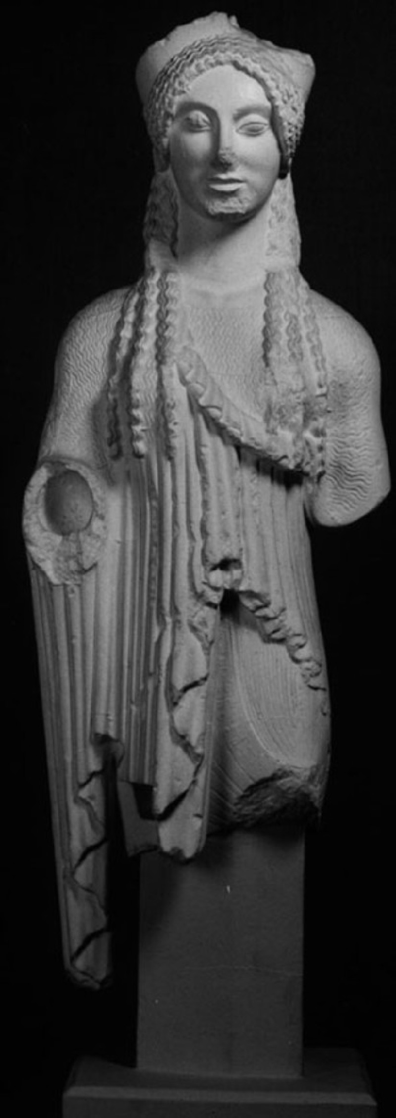 Cast of Kore 674 from the Acropolis, Athens (CG.B.56, record shot)