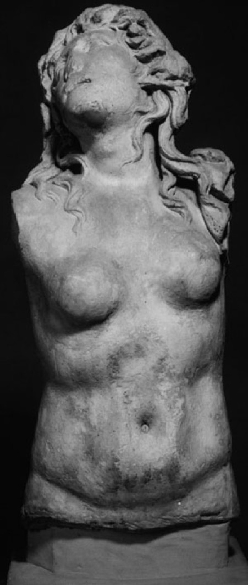 Cast of the torso of Scylla or a nereid from Ostia
