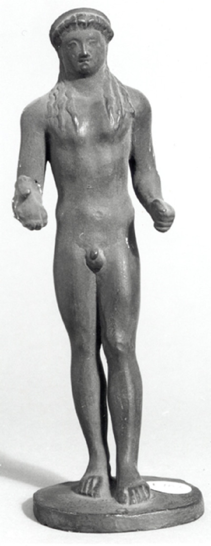 Cast of a statuette of Apollo