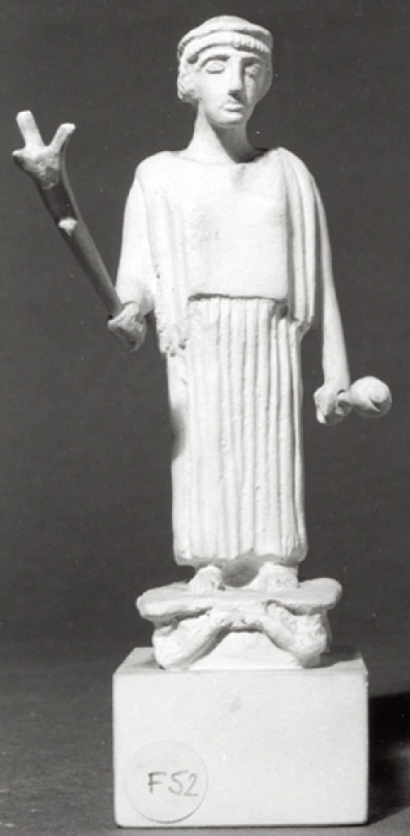 Cast of a statuette of Artemis Hemera, from Arcadia (CG.F.52, record shot)