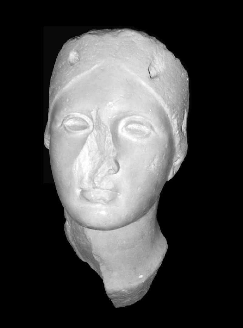 Cast of the head of Juno Sospita, from Lanuvium (CG.H.105, record shot)