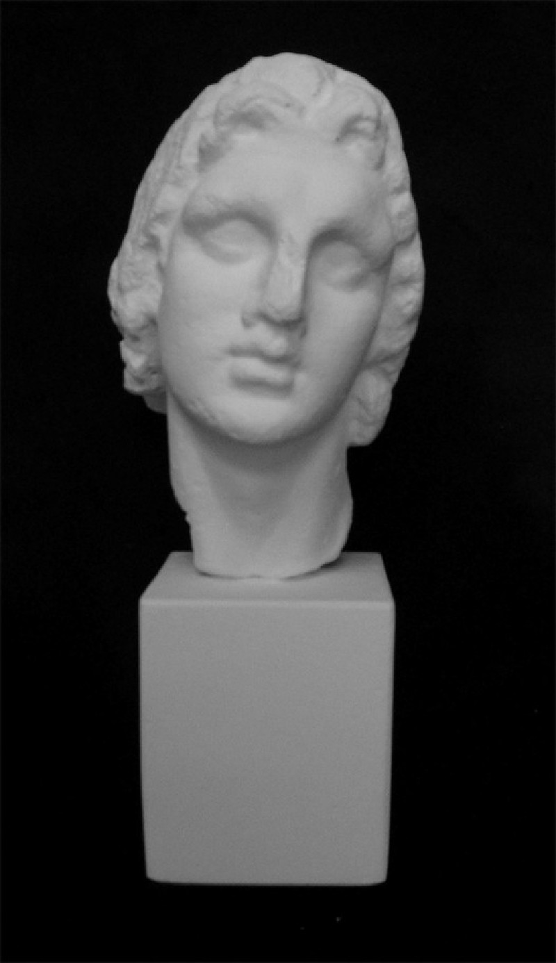 Cast of the head of Alexander the Great