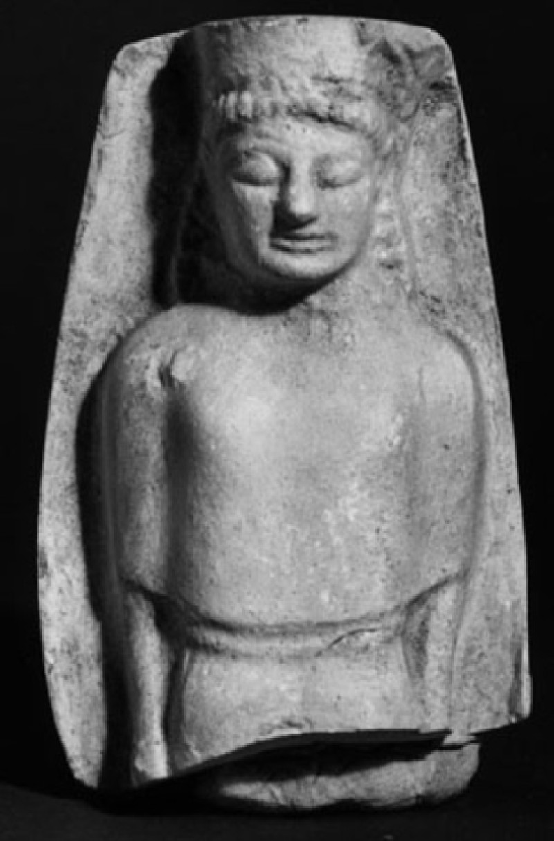Cast of a relief of a woman, from Agrigento