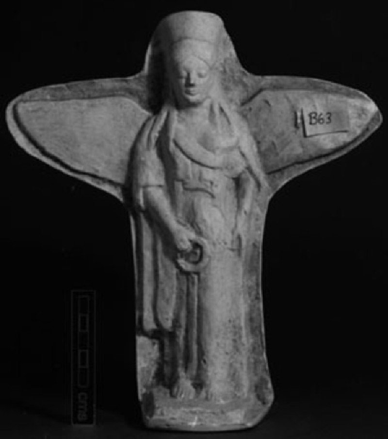 Cast of a relief of winged Nike, from Agrigento