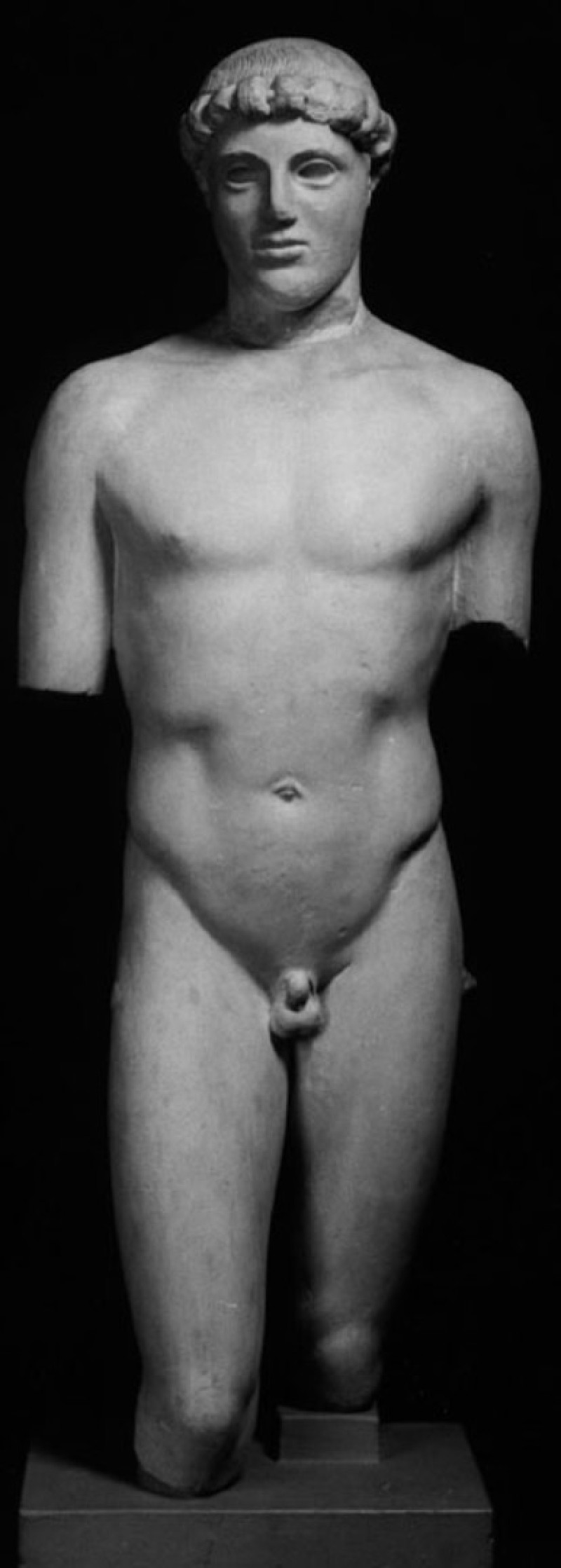 Cast of the Kritios Boy from the Acropolis, Athens (CG.B.68.a, record shot)