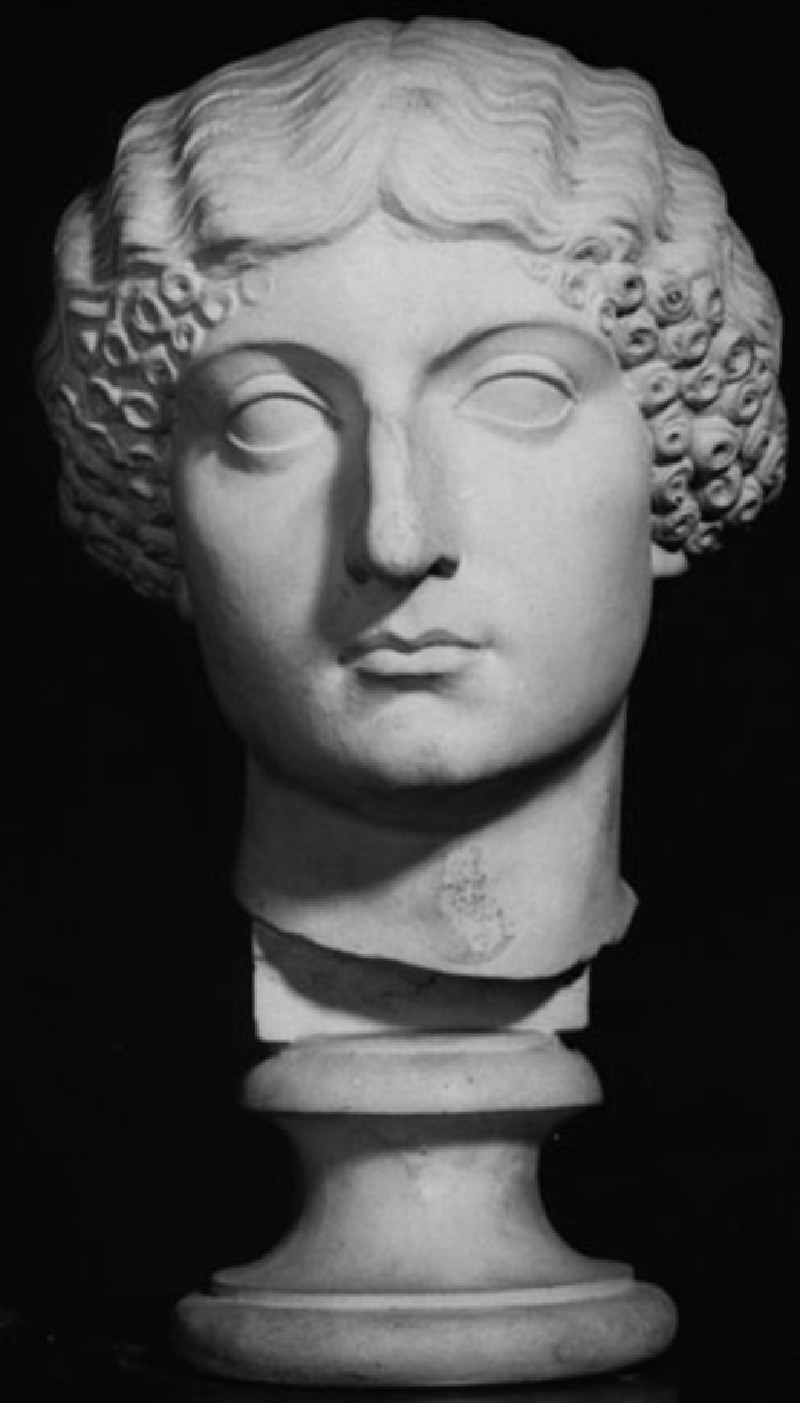 Cast of a portrait head of Livia from Rome