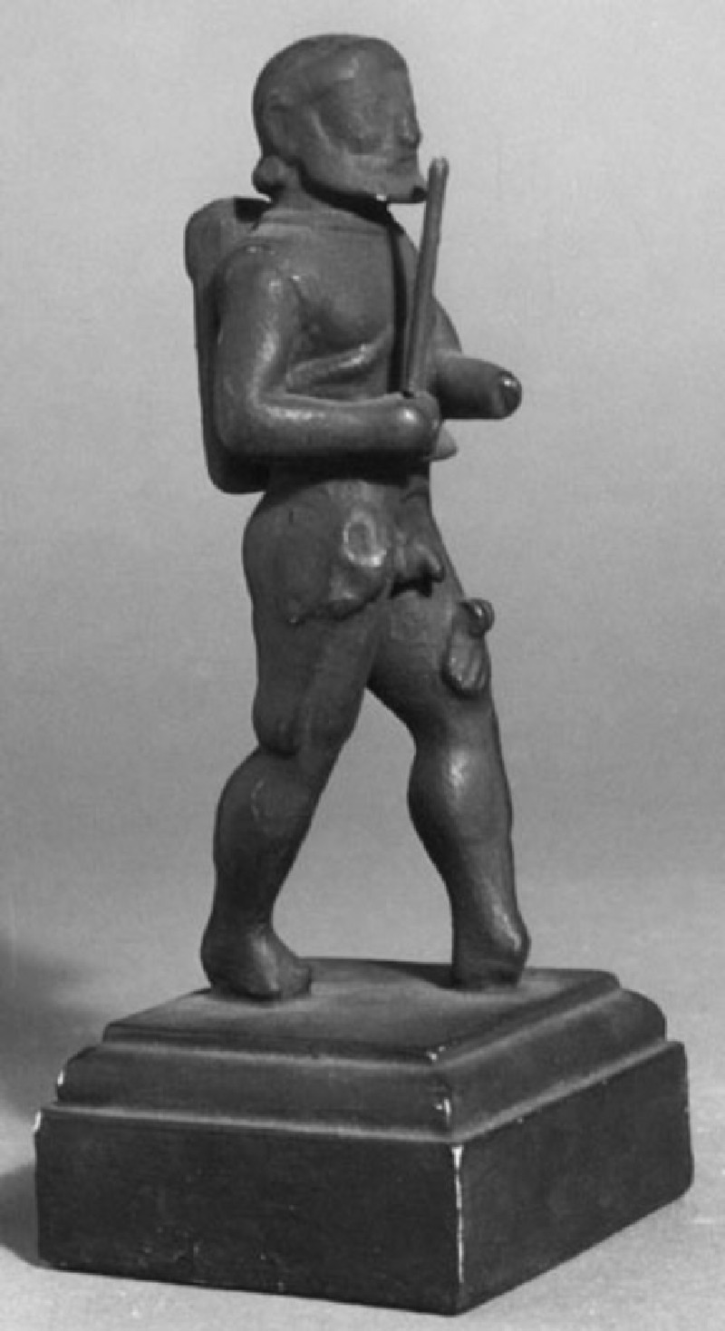 Cast of a statuette of Herakles (CG.F.22, record shot)