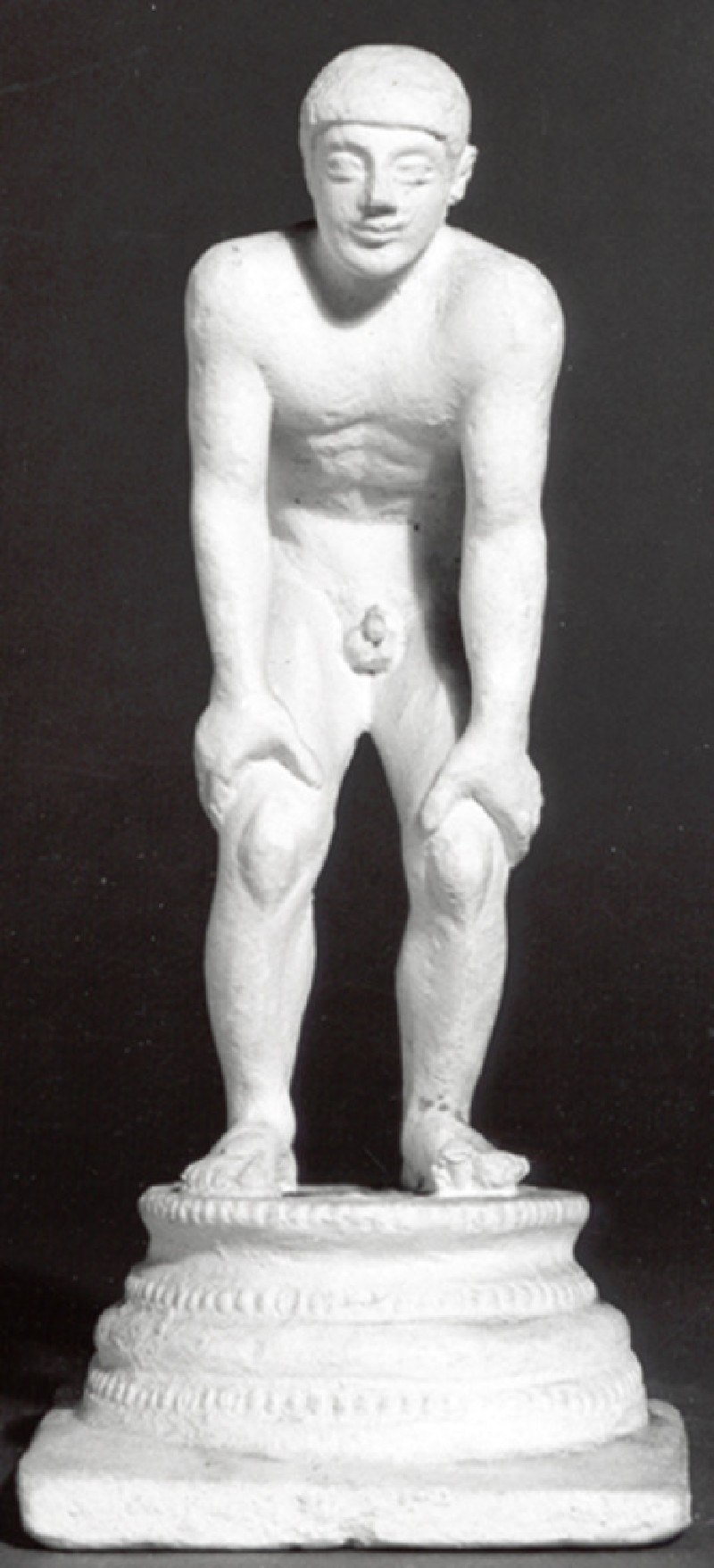 Cast of a stooping youth (CG.F.47, record shot)