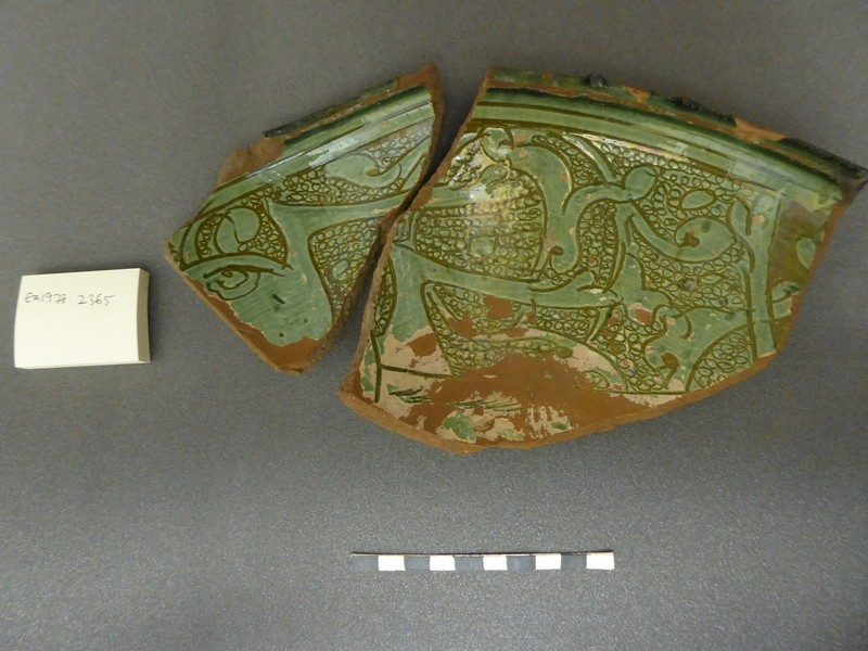 Wall fragments of a bowl