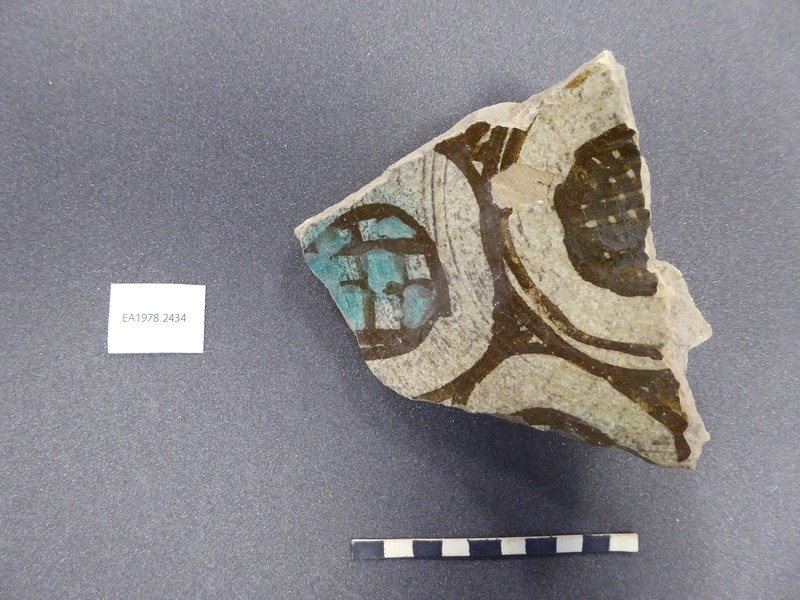 Base fragment with circles