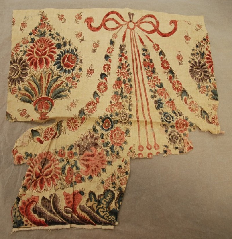 Border fragment of a chintz cover