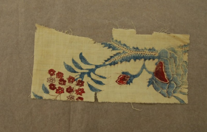 Chintz fragment (EA2014.99.b, record shot)
