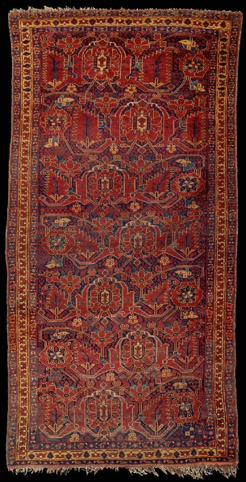 Turkmen Ersari carpet (EA2014.10, record shot)