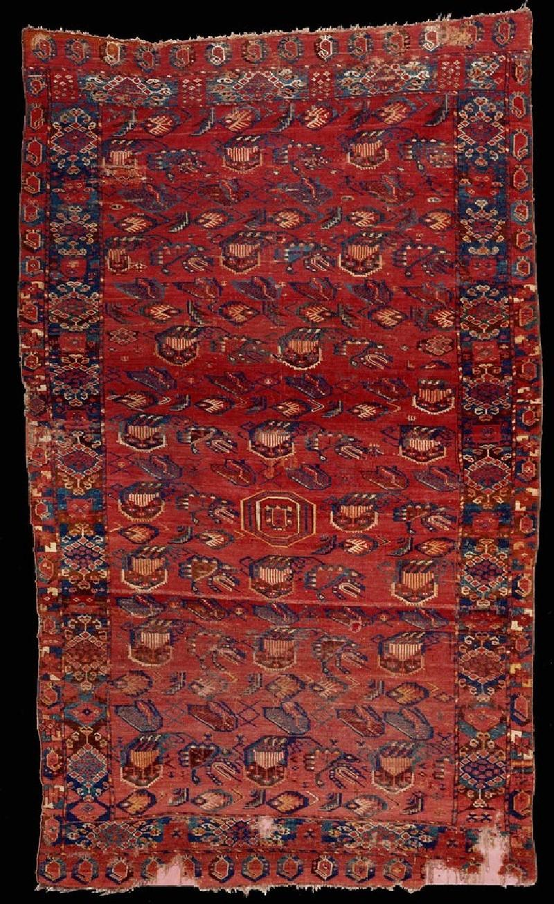 Turkmen Ersari carpet (EA2014.6, record shot)
