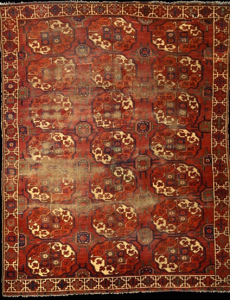 Turkmen Ersari carpet (EA2014.8, record shot)