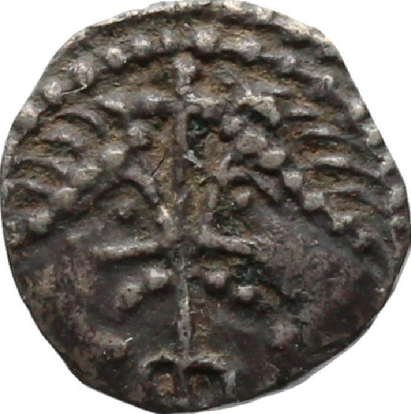 Medieval coin (HCR20641, record shot)