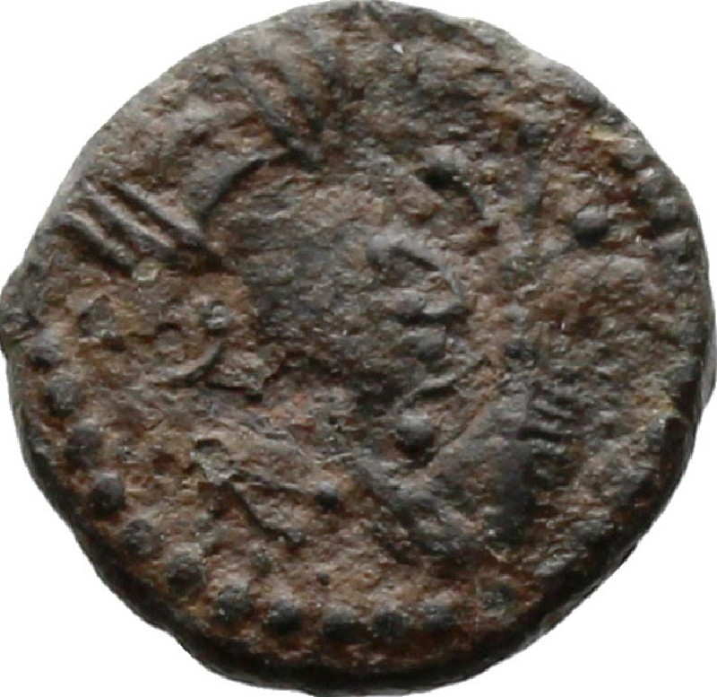 Medieval coin (HCR20681, record shot)