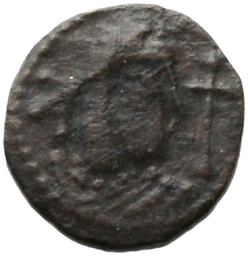 Medieval coin (HCR20687, record shot)