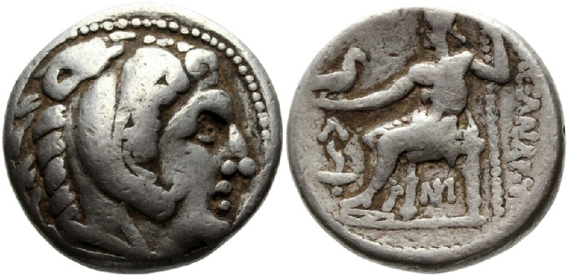 Ancient Greek coin (HCR23272, obverse and reverse, record shot)