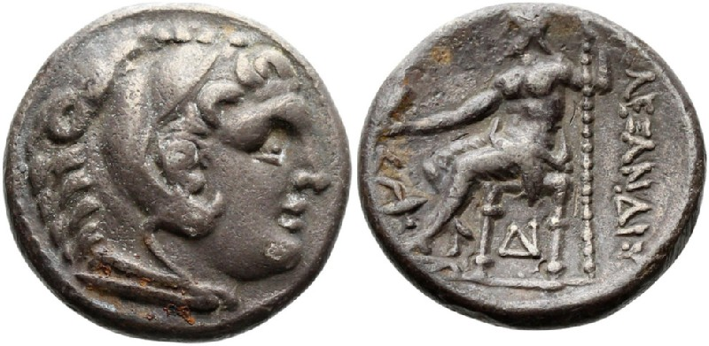 Ancient Greek coin (HCR23282, obverse and reverse, record shot)