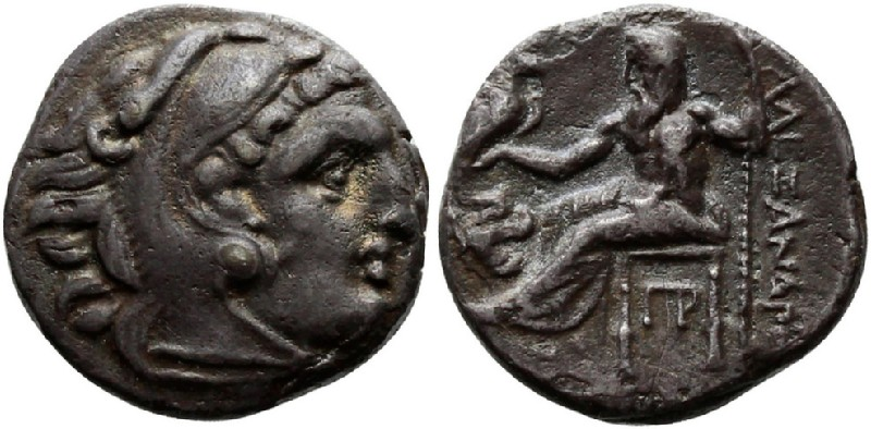 Ancient Greek coin (HCR23338, obverse and reverse, record shot)