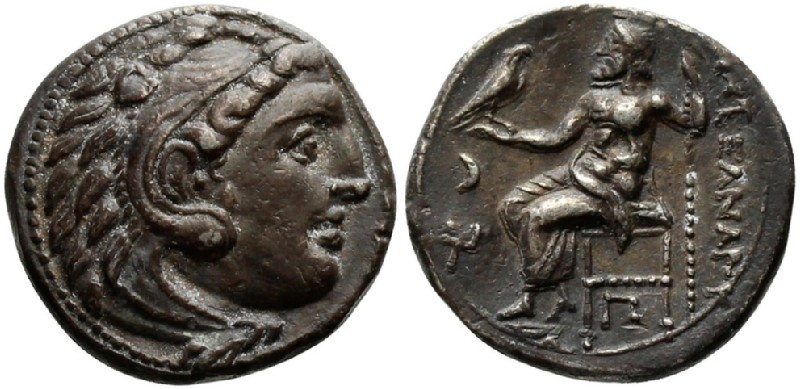 Ancient Greek coin (HCR23378, obverse and reverse, record shot)