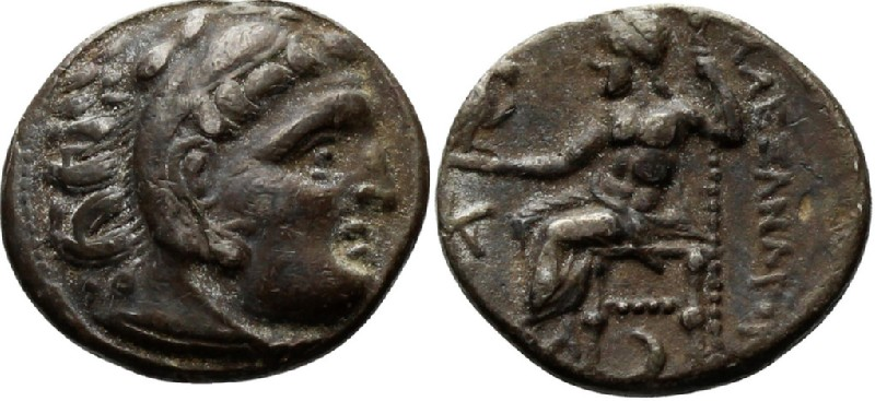 Ancient Greek coin (HCR23381, obverse and reverse, record shot)