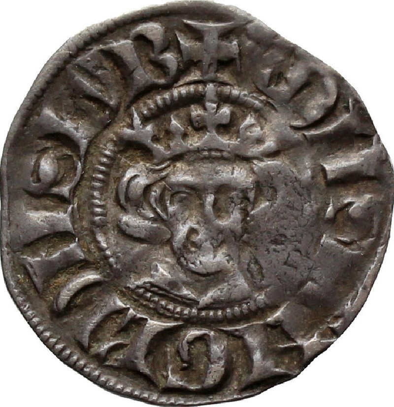 Medieval coin (HCR36629, record shot)