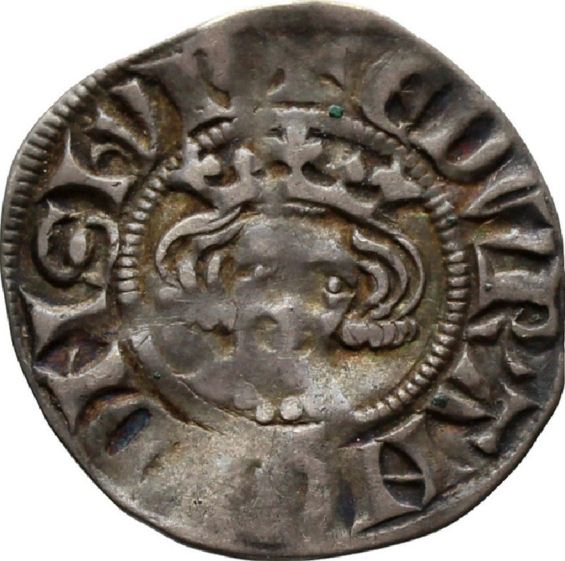 Medieval coin (HCR36640, record shot)