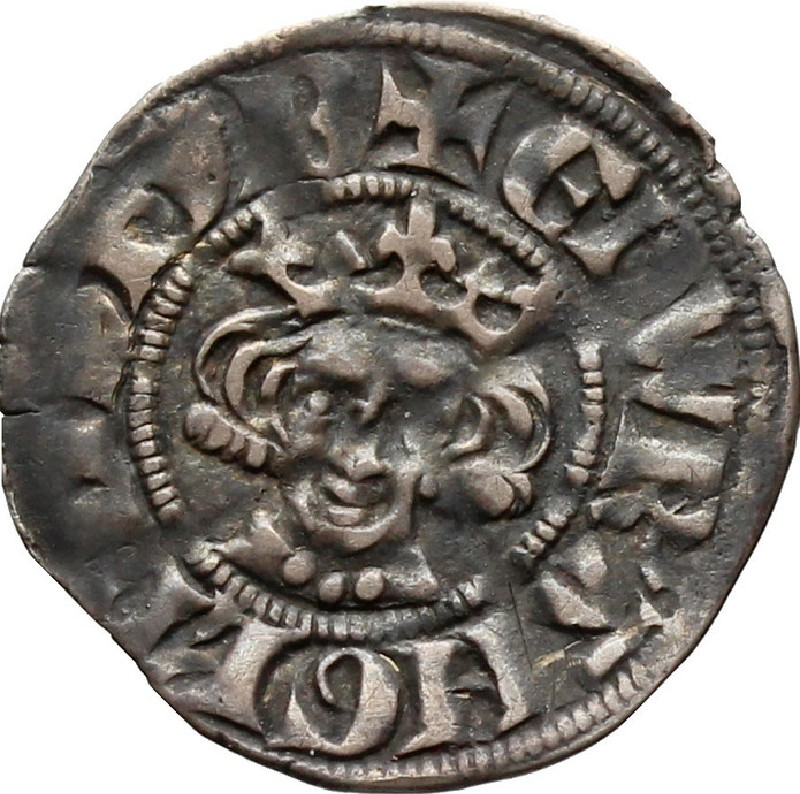 Medieval coin (HCR36643, record shot)