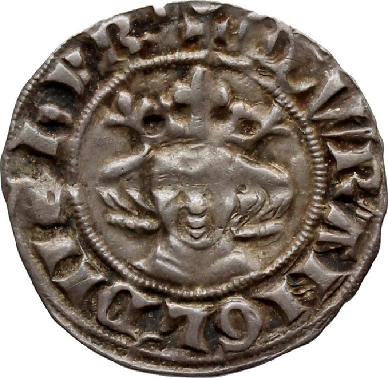 Medieval coin (HCR36658, record shot)