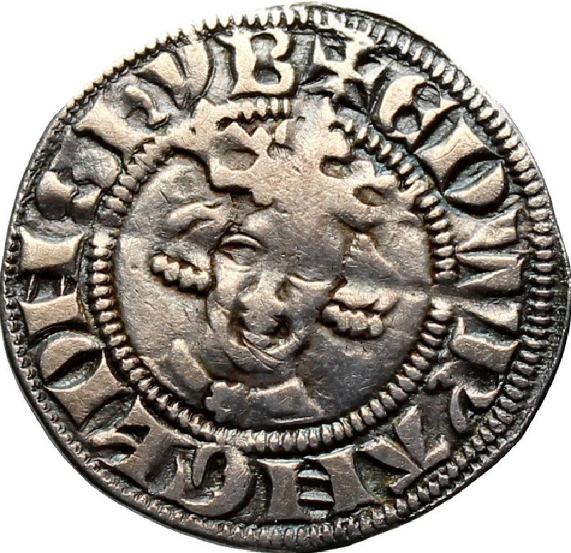 Medieval coin (HCR36660, record shot)