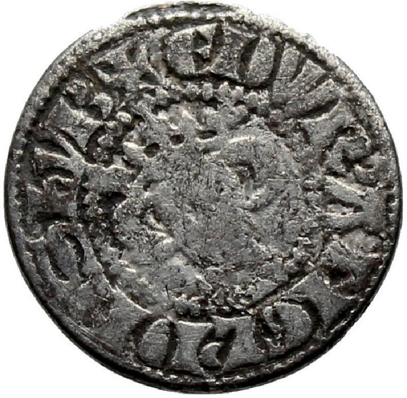 Medieval coin (HCR36782, record shot)