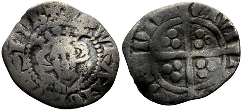 Medieval coin (HCR36819, obverse and reverse, record shot)