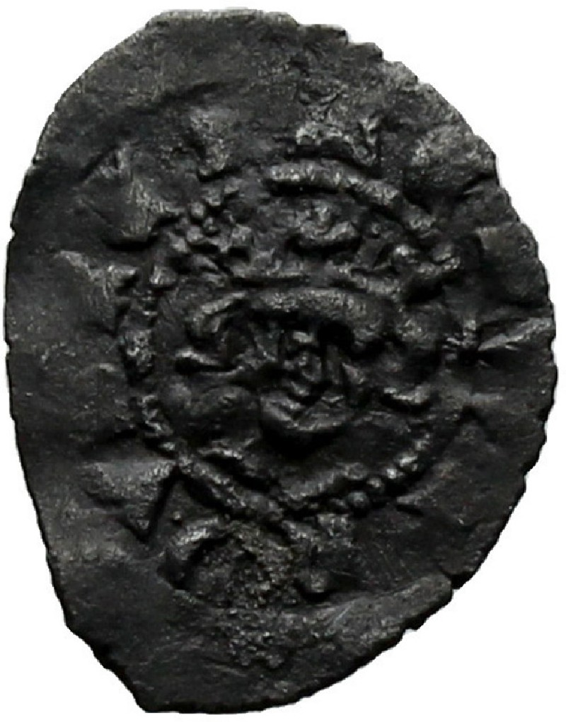Medieval coin (HCR37010, record shot)