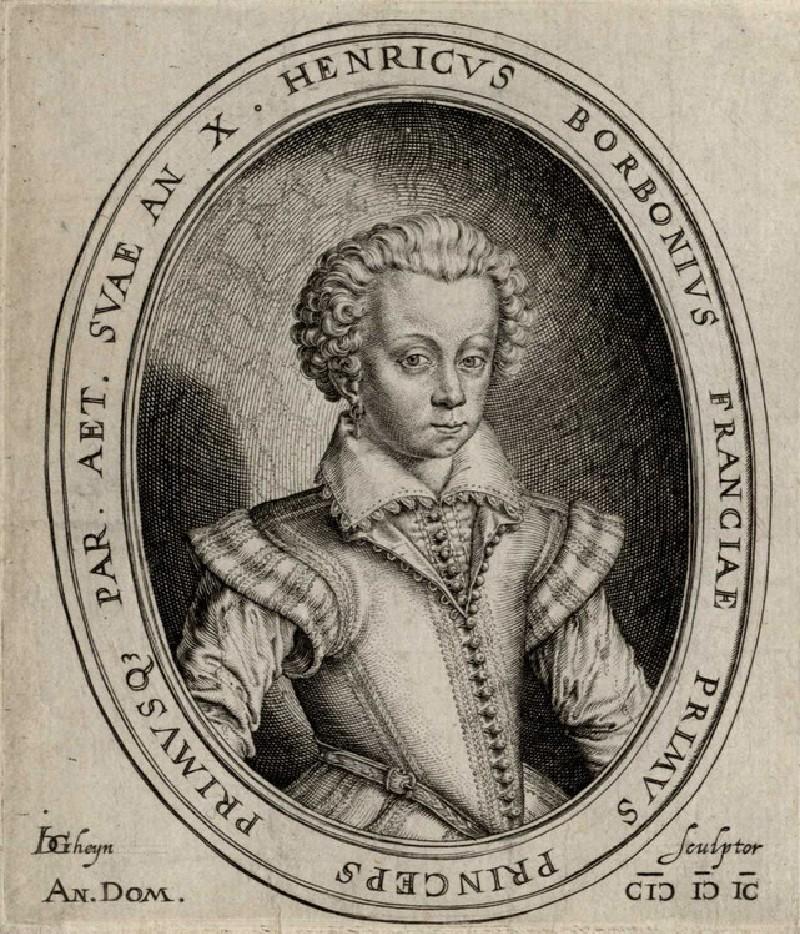 Portrait of Henry II of Bourbon