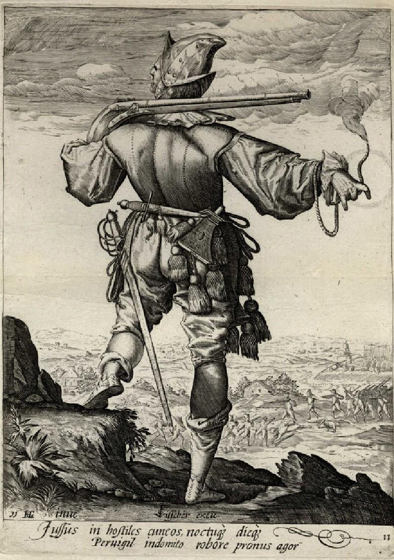 Helmeted Musketeer (WA1863.8009, record shot)