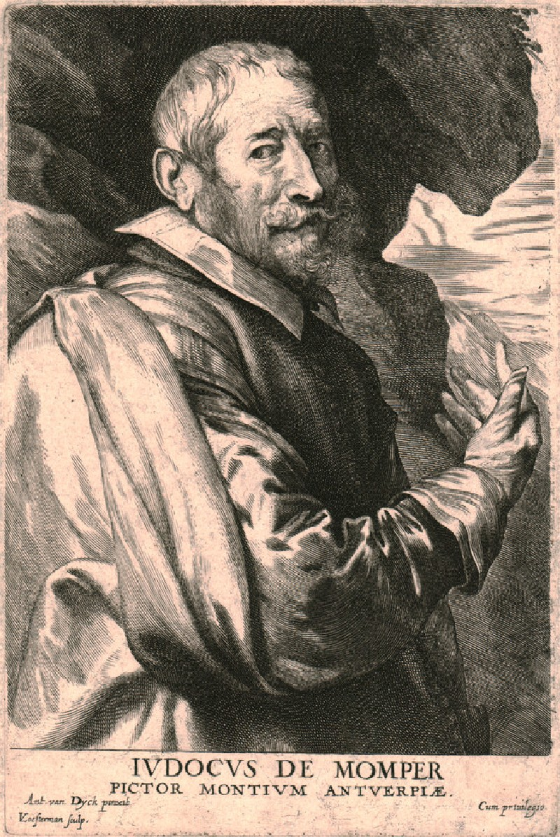 Portrait of the painter Joos de Momper (WAHP5787, HP5787, record shot)