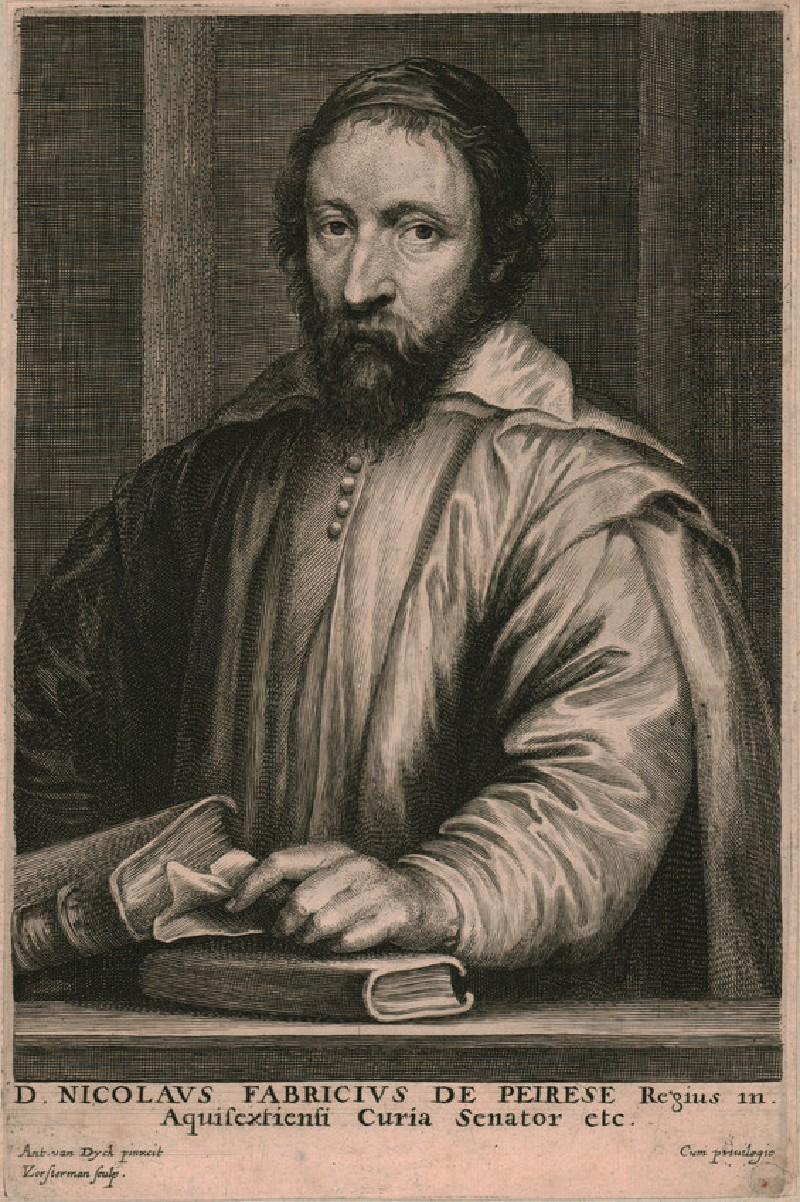 Portrait of Nicolas-Claude Fabri de Peiresc (WAHP6533, HP6533, record shot)