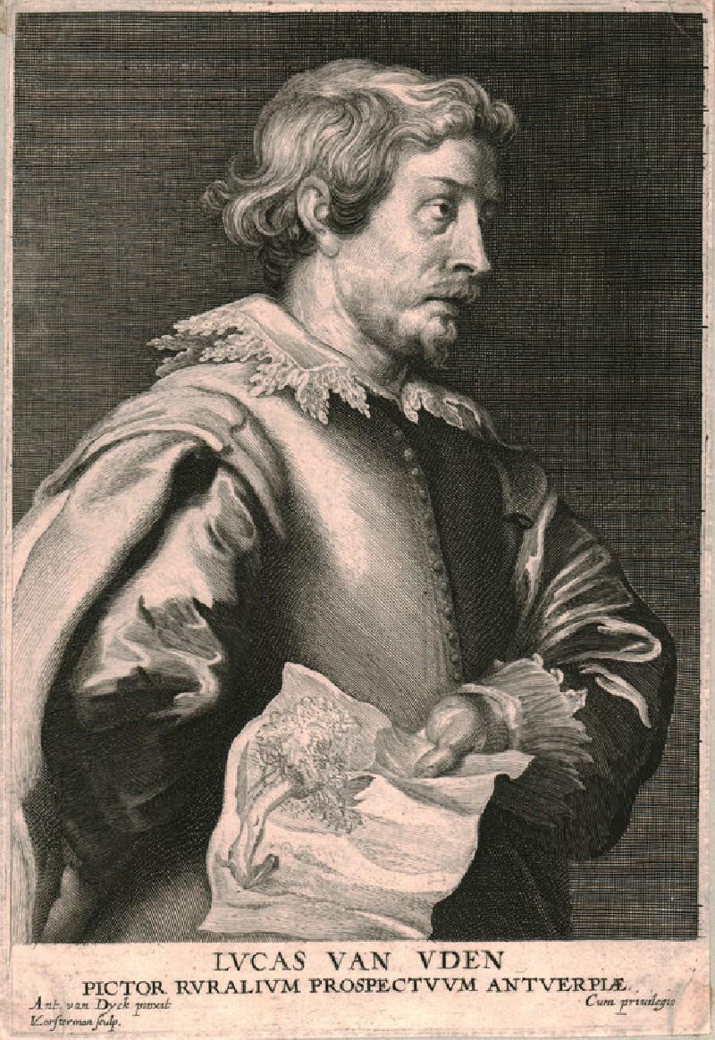 Portrait of the painter Lucas van Uden (WAHP8328, HP8328, record shot)