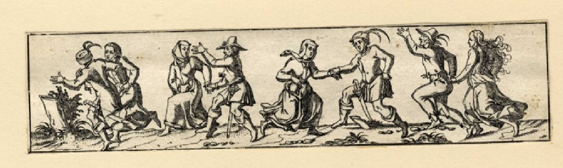Four dancing couples