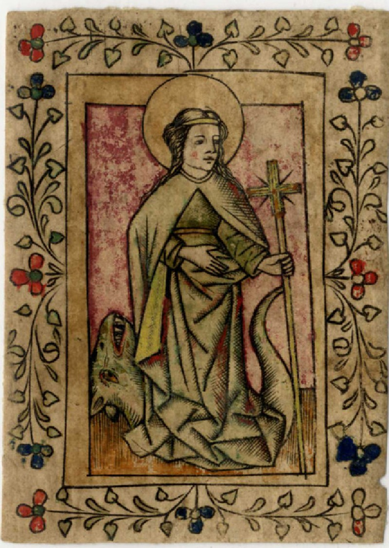 St Margaret of Antioch and the dragon
